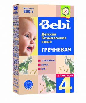 Детские каши с 1 месяца