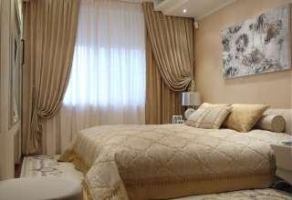 Как правильно выбрать шторы в спальню