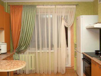 Как правильно выбрать шторы на кухню